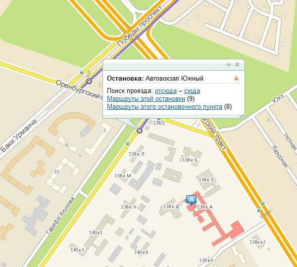 Где находится автовокзал 2