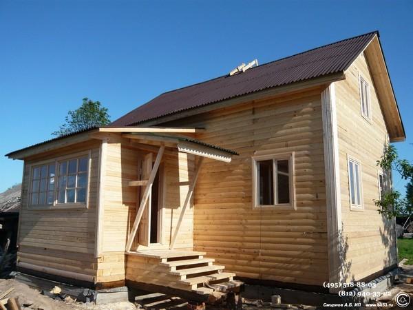Как построить закрытое крыльцо к дому своими руками
