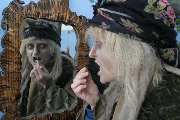 Зубы для бабы яги своими руками