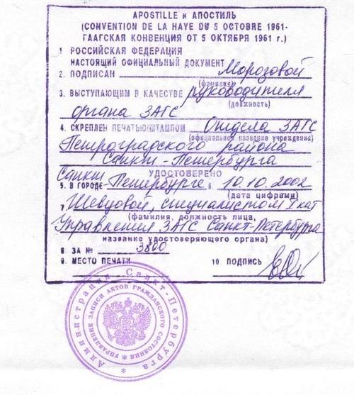 если Можно ли апостилировать копию паспорта иностраннного гражданина поняли