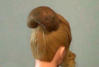 Как сделать валик для волос для бабетты