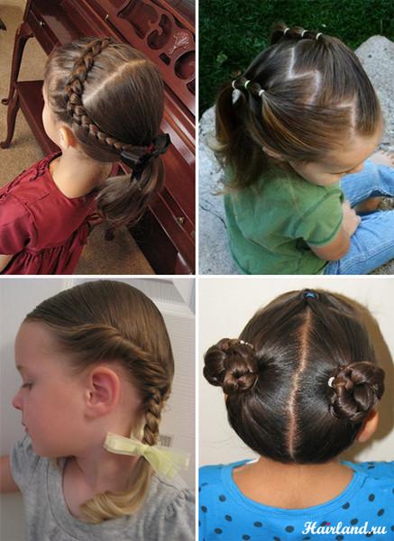 Простые причёски для средних волос на каждый день фото