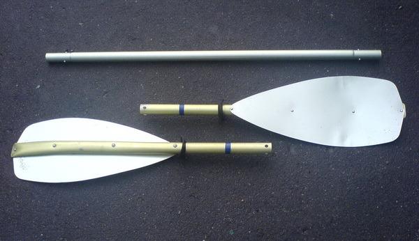 Из чего и как сделать весла для лодки 54