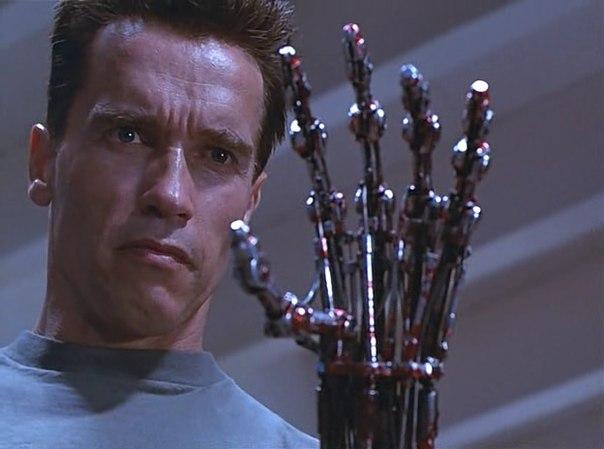 Как сделать руку терминатора на своей руке
