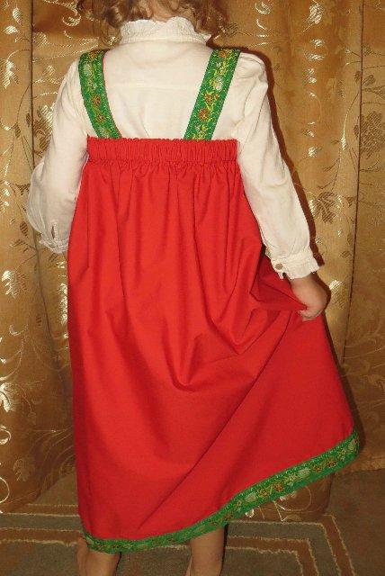 Сшить русско-народного сарафана для девочки 321
