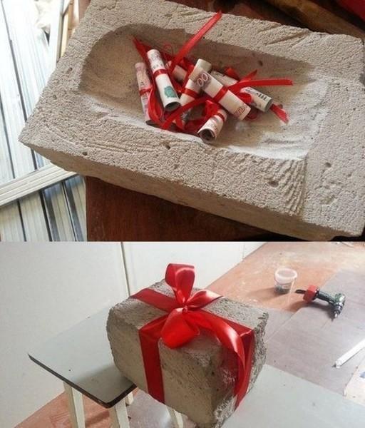 Подарки необычные своими руками