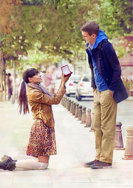 Как сделать предложение любимому мужчине