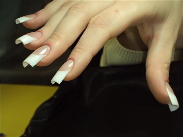 Фото ногти форма арка