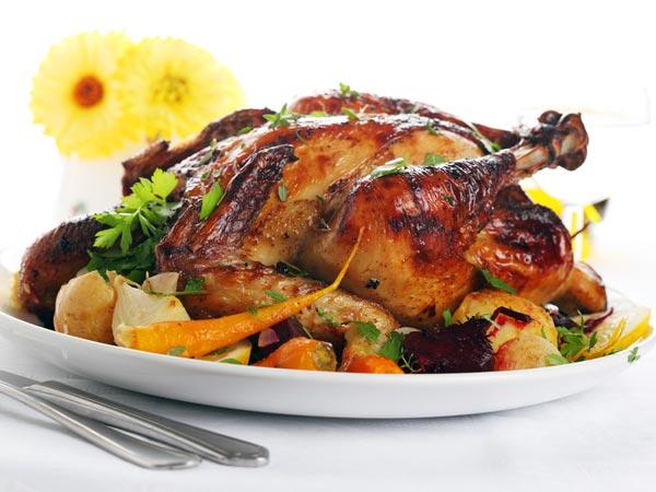 Обед с курицей фото рецепт