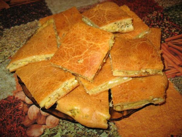 Рыбный пирог на майонезе рецепт с фото
