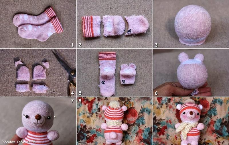 Как сделать игрушку из носка своими руками 2 класс