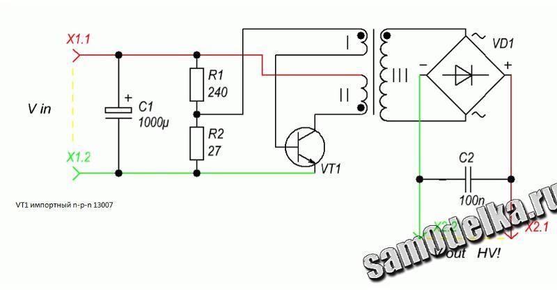 Блокинг генератор