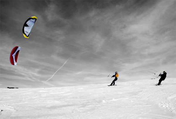 Парашют для сноуборда