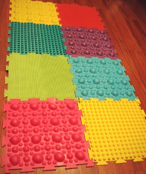 Массажей коврик для ног