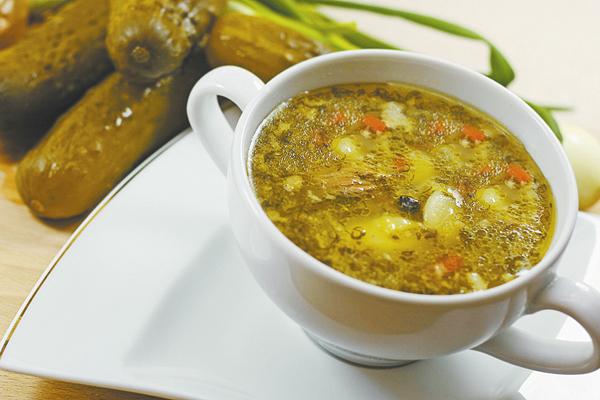 Рецепты первых блюд рассольник с фото