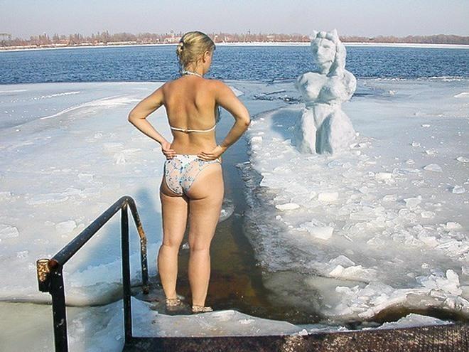 Голые Тетки Зимой