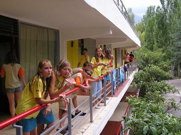 фото лагерь речной артек