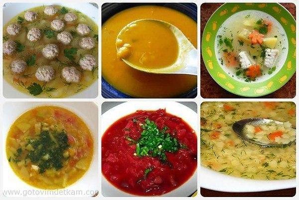Домашние супы рецепты простые и вкусные на каждый день
