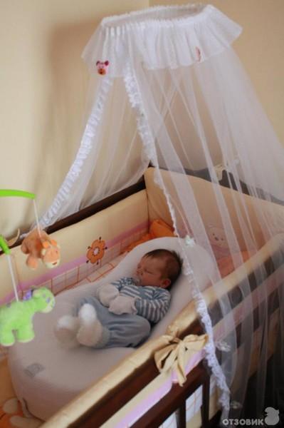 Кокон кроватка для новорожденных
