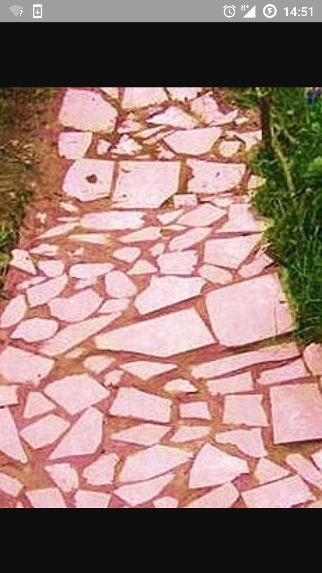 Дорожка на даче из керамической плитки своими руками