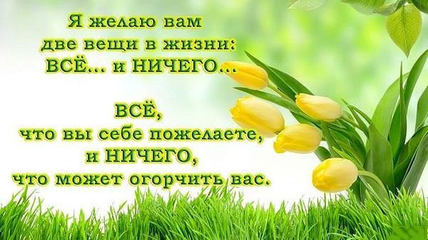 Поздравление счастья здоровья красоты