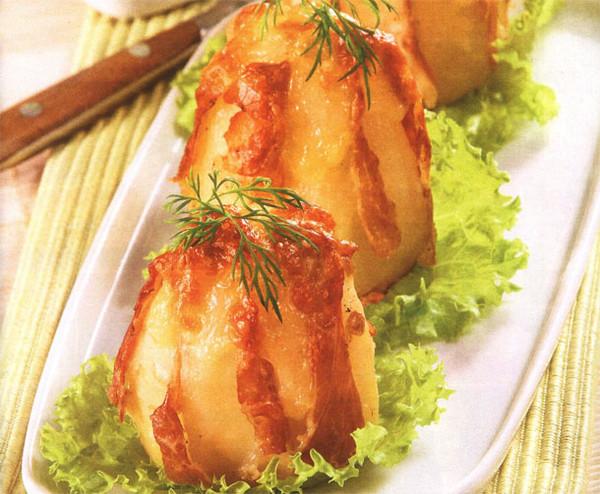 Картофель с сыром в фольге в духовке рецепт пошагово