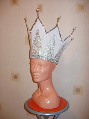 Сделать своими руками корону снежной королевы
