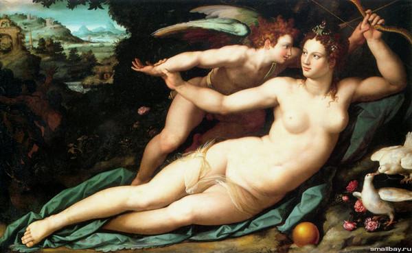 Живопись голых женщин