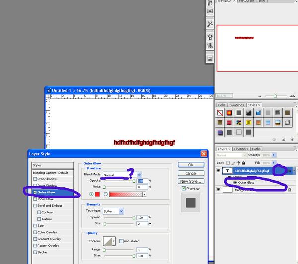 Как сделать обводку шрифта в фотошоп