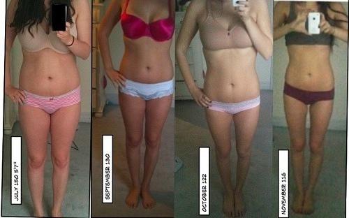 Как похудеть с 50 кг до 45 при росте 170
