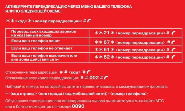 Как сделать переадресацию звонков на другой номер - Luboil.ru