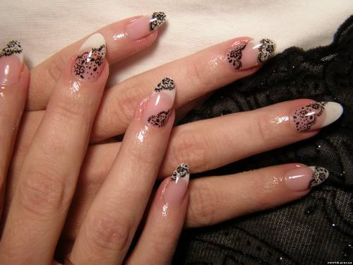 Как выглядят нарощенные ногти без дизайна