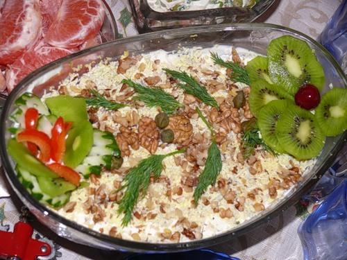 Как грецкие орехи приготовить на салат