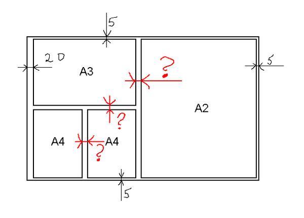 Ответы@Mail.Ru: Вопрос по инженерной графике (как начертить рамку на ватмане?