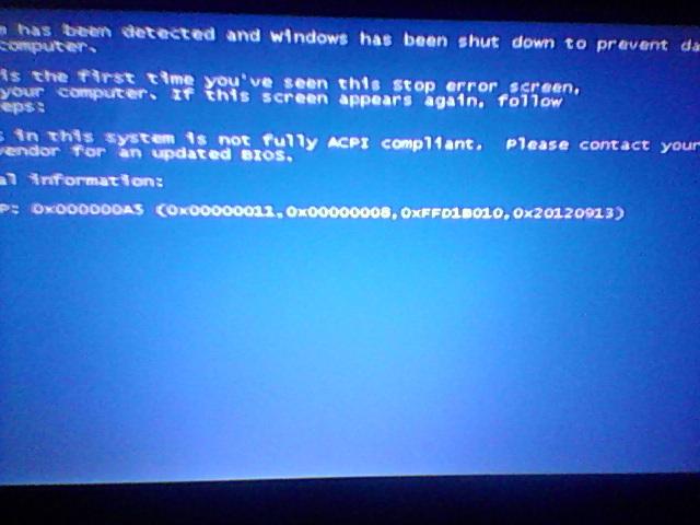 Что делать когда у ноутбука синий экран