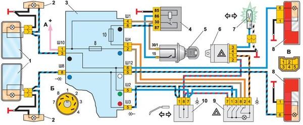 Схема зажигания на ваз нива