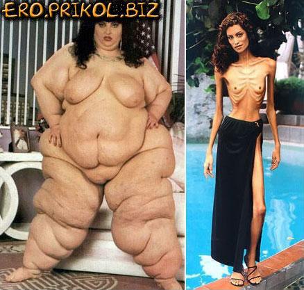 Фото похудевших голых телок