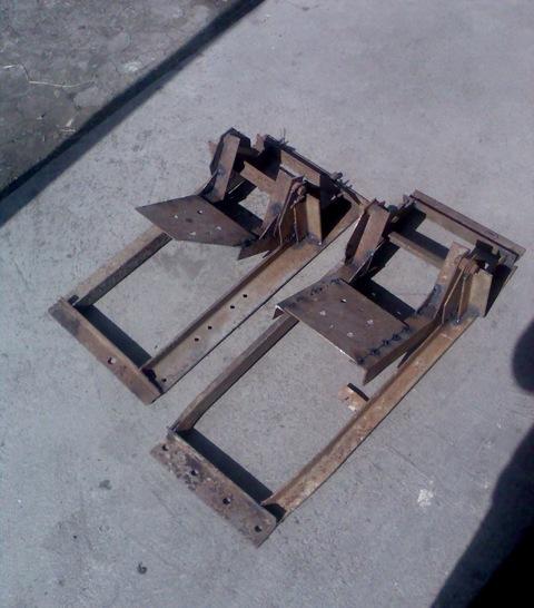 Самодельный опрокидыватель машины
