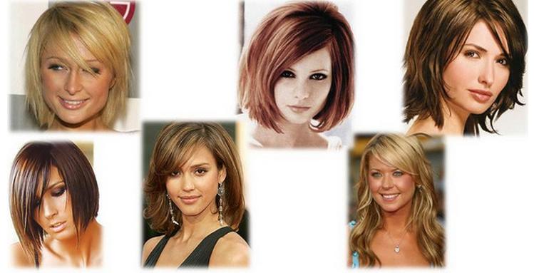 Стрижка волос для квадратного типа лица