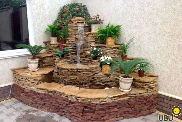 Как сделать фонтаны для дома