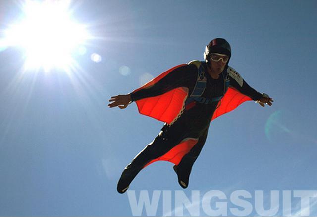 Как сделать крылья на которых летают люди