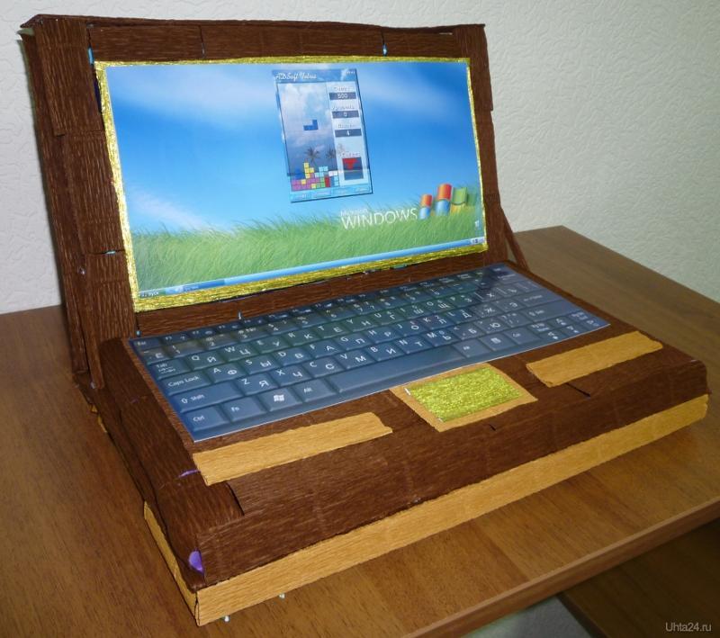 Как сделать компьютер из коробки своими руками