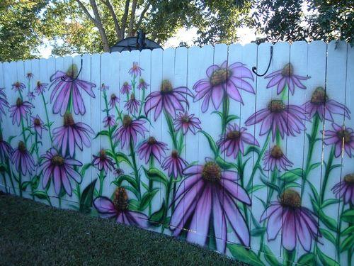 Как сделать забор цветочный