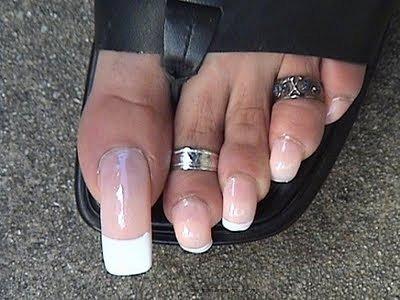 Маникюр гель лаком на средние ногти фото