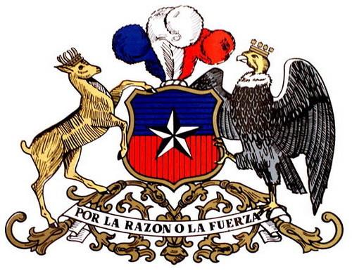 La fuerza а флаг сине красный со звездой