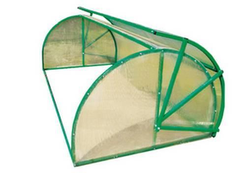 Парник своими хлебница руками из поликарбоната