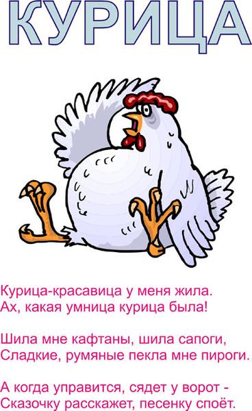 Поздравление к подарку курица