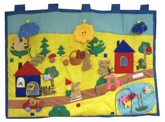 Сенсорный коврик для детей