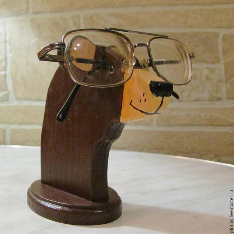 Подставка под очки в подарок 772