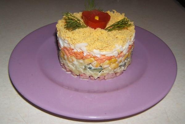 Как сделать форму для салатов